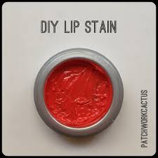 diy lip stain tutorial patchworkcactus
