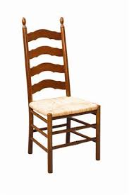 Ladder Back Dining Chairs Country Ladder Back Chair Amish Dining Chairs