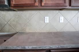Remodelaholic DIY Whitewashed Faux Brick Backsplash - Brick backsplash tile