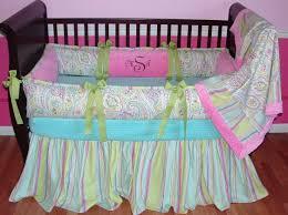 baby paisley bedding nice