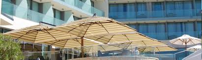 Commercial Patio Umbrella by Offset Patio Umbrellas Large Outdoor Commercial Patio Umbrellas