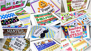 classroom themes decoration packs