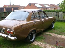 1972 ford escort 1300 xl bronze tax exempt