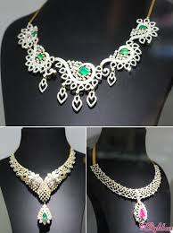 diamond necklace collection images Loved scintillating collection at kalyan jewellers jpg
