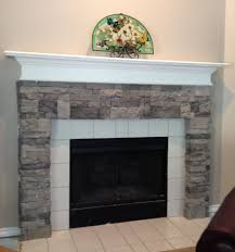 fireplace hearth stone veneer the gallery facade do it yourself