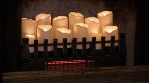 duraflame infrared quartz heater fireplace insert on qvc youtube