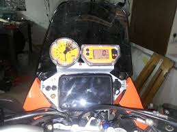 trail tech vapor in my ktm 990 adventure adventure rider