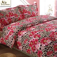Bed Sheet Sets Queen Popular Leopard Bedding Sets Queen Buy Cheap Leopard Bedding Sets