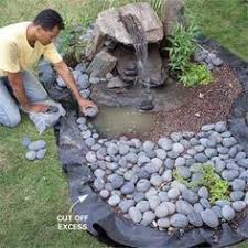 Rock Garden Features Bubbling Rock With Reservoir Landscaping Ideas Justin S