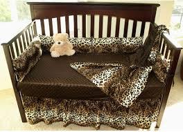 Cheetah Print Crib Bedding Set 51 Best Leopard Bedding Set Images On Pinterest Leopard Bedding