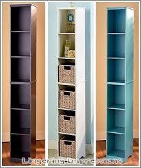 Bathroom Slimline Storage Tower by Slim Bathroom Storage Simple Elegant Bathroom With Slim White