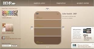 behr brown paint