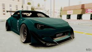 nissan frs custom scion frs rocket bunny killagram v1 0 for gta san andreas