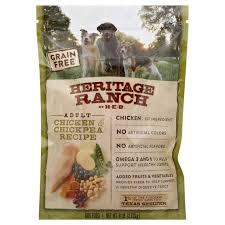 h u2011e u2011b heritage ranch grain free dog food chicken u0026 chickpea