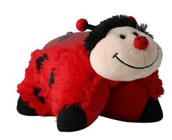 pillow pet night light target amazon com pillow pets dream lites ms ladybug 11 childrens