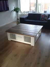 lade wood salontafel met lade en glasplaat zoeken huis