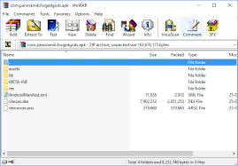 apk file how to open an apk file using winrar or 7 zip on windows