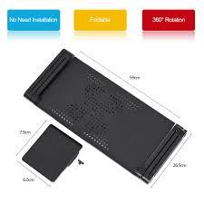 portable adjustable aluminum laptop holder fan cooler desk sales