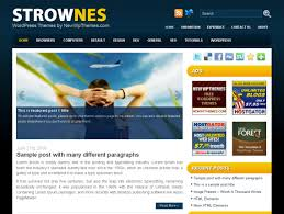 free premium wordpress templates u2013 template design
