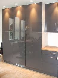 Kitchen Cabinet Doors Diy by Painting High Gloss On White Laminate Diy Chatroom Kitchen Cabinet