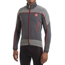 softshell bike jacket castelli mortirolo reflex windstopper cycling jacket for men