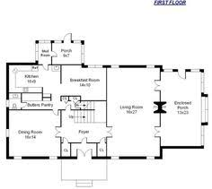 center colonial house plans image of side colonial floor plan backto school storage for a