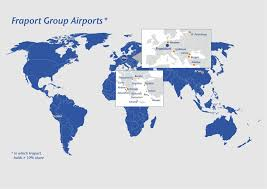 Frankfurt Airport Map Fraport Ag Media