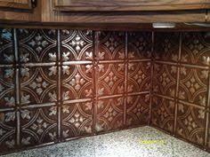 tin tile back splash copper backsplashes for kitchens adding pressed tin into your home decor stylish kitchen kitchen