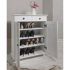 entryway shoe storage cabinet furniture double door storage cabinet white with 2 drawer for