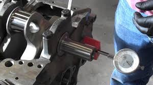 checking crankshaft thrust endplay mp4 youtube