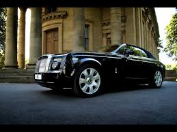 rolls roll royce 2009 project kahn rolls royce phantom coupe front and passenger