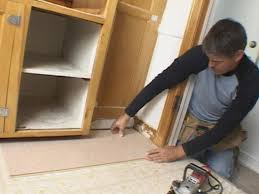 how install floating cork floor tos diy cutting the door casings
