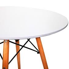 Replica Eames Dining Table Replica Eames Dsw Eiffel Dining Table White Nextfurniture