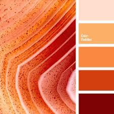 color combinations with orange monochrome orange colour palette color palette ideas