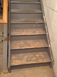 staircase remodel diy basement stair transformation u2014 revival
