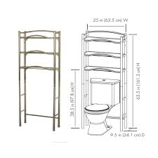 Mainstays Bathroom Wall Cabinet 100 Mainstays 3 Shelf Bathroom Space Saver Instructions
