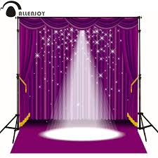 backdrops for sale allenjoy photographic background purple lighting stage curtain