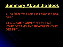 the monk who sold his review book review
