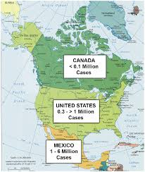 America Map Atlanta by An Unfolding Tragedy Of Chagas Disease In North America