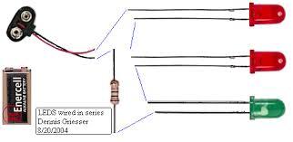resistor needed for leds