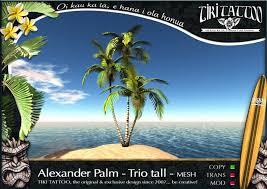 second marketplace tiki copy 3d palm