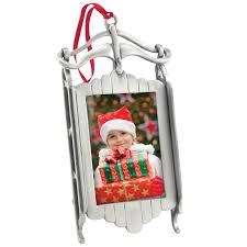 wholesale photo ornaments 7150x sled picture frame