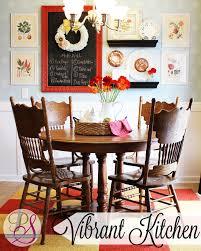 vibrant kitchen update positively splendid crafts sewing