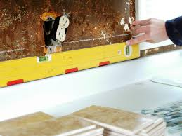 How To Do Tile Backsplash In Kitchen Kitchen How To Install A Kitchen Tile Backsplash Hgtv Installing