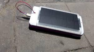 cara membuat powerbank dengan panel surya power bank tenaga surya youtube