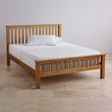 original rustic king size bed in solid oak oak furniture land