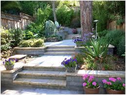 terrace garden design couryard water feature bamboo grass pictures