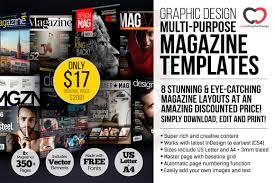 magazine layout graphic design 8 professional graphic design magazine templates over 350 pages