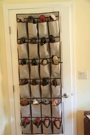 Shoe Rack For Closet Door Closet Door Hanging Shoe Rack Closet Doors