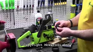 mowers4u poulan chainsaw oil pump replacement youtube
